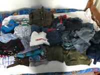 Bundle of boys clothes aged between 12-24 months