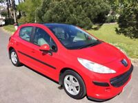 PEUGEOT 207, 1.4 PETROL, 5 DOOR, CLUTCH AND CAMBELT DONE! PANORAMIC ROOF!!!