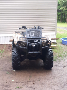 2009 700 grizzly with eps 6000 km need gone