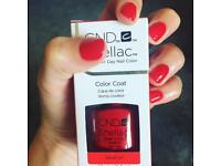 CND Shellac nails gel nails