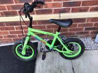 Children's 12inch bike and helmet