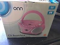 Brand new onn cd boombox
