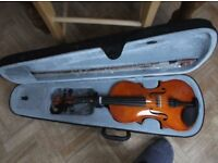 Full size, 4/4, Windsor Violin with Bow and Case