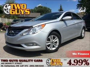 2013 Hyundai Sonata GLS SUNROOF HTD SEATS ALLOYS