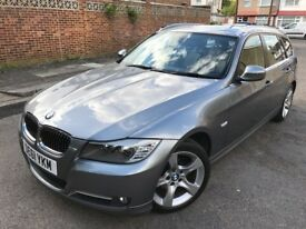 BMW 3 Series 2.0 318d Exclusive Touring 5dr Smooth Drive Low Mileage 2011 (61 reg), Estate