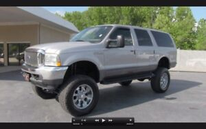 Ford excursion wanted
