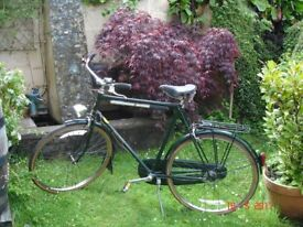 Raleigh Surperbe 3 speed Gentleman's Bicycle with Sturmey Archer gears