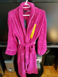 Tommy Hilfiger Womens Plush Robe