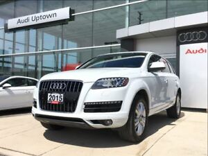 2015 Audi Q7 3.0 TDI Progressiv W/NAVIGATION & BACK UP CAMERA