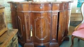 High Gloss Beautiful Old Vintage Cabinet