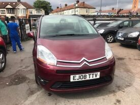 2008 Citroen Grand C4 Picasso, AUTOMATIC, WELL LOOKED AFTER, 7 SEATER, FIRST TO SEE WILL BUY,.