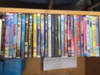 Kids dvds 50p each