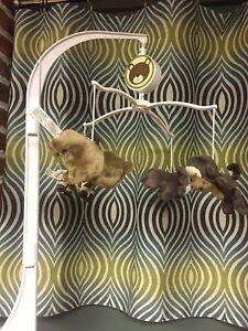 Baby Animal Crib Mobile
