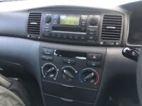 Toyota Corolla 2005 Saloon Manu