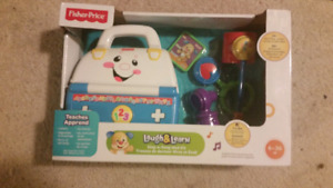 Brand new laugh and learn sing a song med kit