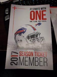 Buffalo Bills - 4 Seats - Lower Bowl Hard Tickets not E tickets