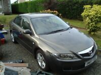 Very low mileage 07 plate MAZDA 6 1.8l TS Gunmetal grey Climate/cruise control All electric