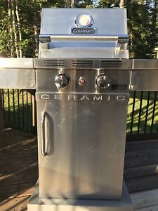 Cuisinart Ceramic BBQ-  used 3 times