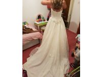 Brand new wedding dress with tags rrp £999