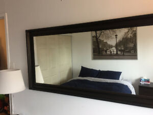 Bedroom big mirror new good condition Size 29 1/8x65 ""