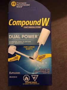Wart Removal System Dual Power CompoundW