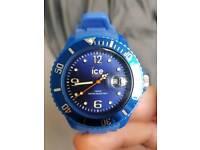 New blue ice watch