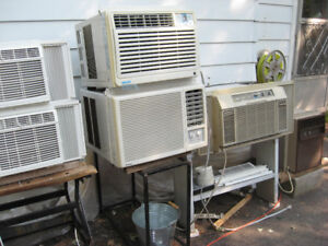 I HAVE AIR CONDITIONERS from 5,000 TO 12,600 BTU from $50 & up