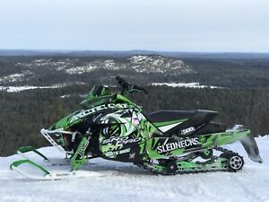 2015 Arctic cat ZR5000 4-stroke sled