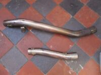 EXHAUST LINK PIPES