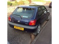 Ford Fiesta freestyle 1.25 Zetec FOR SPARES OR REPAIRS
