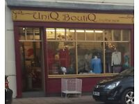 Clothes Shop and all stock and fittings for sale