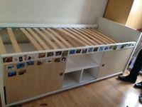 MIDI bed with matress