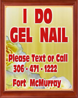 """""""EXPERT GEL NAIL TECHNICIAN"""" Affordable & quality in Fort Mc."""