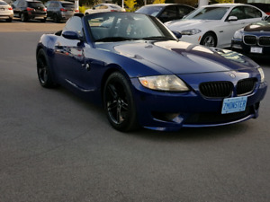 THE REAL DEAL 2006 BMW Z4M ROADSTER INTERLAGOS BLUE