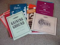 Sheet Music, Guitar Books, Song Books Etc.