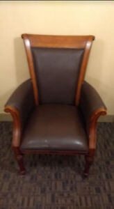 Funky Antique-y Chair -Text 416-400-6479