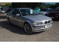 bmw 318i, 1895cc, 1998-private plate, new mot on purchase,123,0000 miles