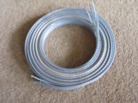 6.5M (21 feet) QED Silver Anniversary Biwire Speaker Cable.