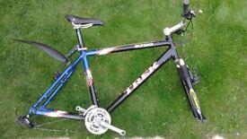 """Trek 6700 Aluminum 19.5"""" Mountain Bike Frame + Fork + extras"""