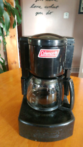 Coleman stove top coffee maker