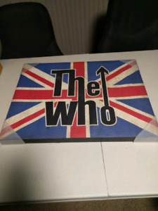 The who canvas art