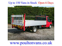 """2013 (63)FORD TRANSIT T350 EF DRW 13'6"""" EXTRA LWB HIGH SIDED DROPSIDE,NOT TIPPER"""