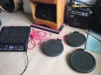 **ONLY 1 LEFT!! Roland PD-6 Electronic Trigger V Drum Pads. Rubber Black PD 6, Snare Tom Hi-Hat Kick