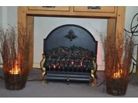 Electric Coal Effect Fire with Lamps