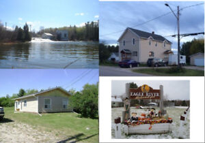 Lakefront Home & property for sale (Dryden Kenora Area)