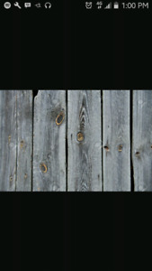 WANTED! Used barn  boards
