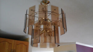 SET OF 2 MATCHING CHANDELIERS