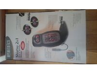 Homedics 2 in 1 Shiatsu massage chair with heat