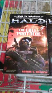 Halo Books ( All 4 for  $10 )
