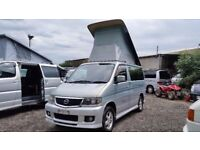 2002 Mazda Bongo AERO FULL NEW SIDE CONVERSION 4 BERTH 2.5 V6 AFT CAMPERVAN